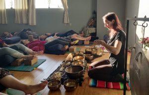 Tibetan Bowls and Restorative Yoga, Jacqueline Lasahn