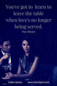 Nina Simone lyrics love couple Libra AstroSpirit