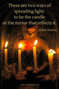 There are two ways of spreading light  to be the candle or the mirror that reflects it 2 200x300 - Pisces New Moon: Ineffable