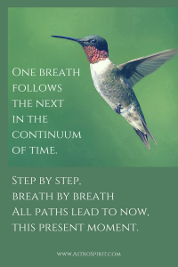One breath follows the nextin the continuum of time.Step by stepbreath by breathAll paths lead to nowthis present moment. 200x300 - Scorpio Full Moon: Inevitable