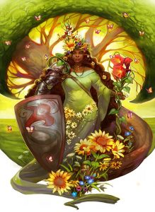 Earth Guardian by Julie Dillon 219x300 - Taurus New Moon: Earth Wisdom