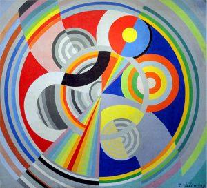 Robert Delaunay 1938 Rythme n°1 Decoration for the Salon des Tuileries oil on canvas Musée dArt Moderne de la ville de Paris 300x273 - Sagittarius Full Moon: Uplifting Truth