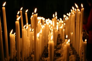 """Duomo Candles"" by Chris Brown is licensed under CC BY 2.0"