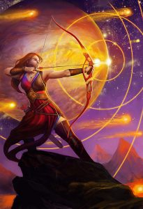 Sagittarius by Julie Dillon 205x300 - Sagittarius New Moon: Intention