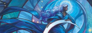 Moon Woman detail by Julie Dillon 300x109 - Lunar Eclipse Leo: Ignite your Path