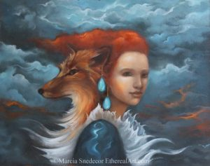 Red Duo by Marcia Snedecor 1 300x237 - Scorpio Full Moon: Passionate Alchemy