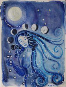 Donna Luna by Margherita Arkaura