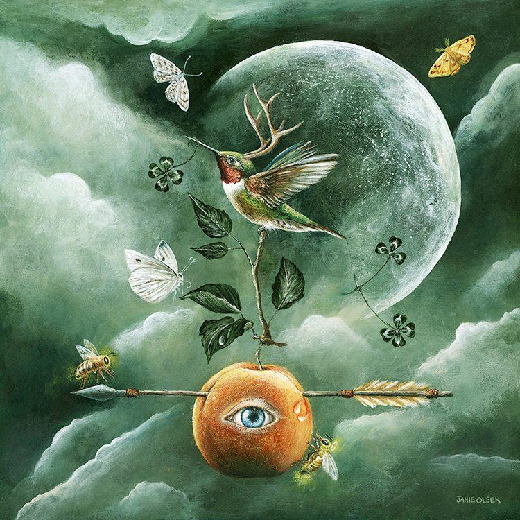 Aquarius Full Moon: Queen of Reflection - Jacqueline Lasahn